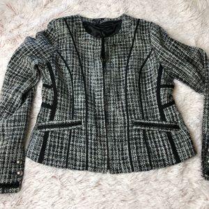 Express | zip up mod blazer jacket